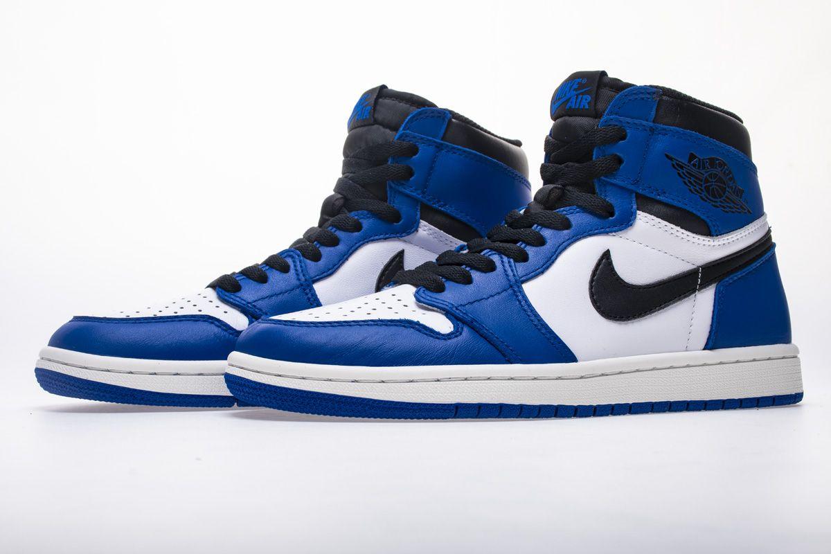 ... cbf8d 4d40b Air Jordan 1 OG High Game Royal 555088-403 Basketball Shoes  4 in ... adb7cd516cd9