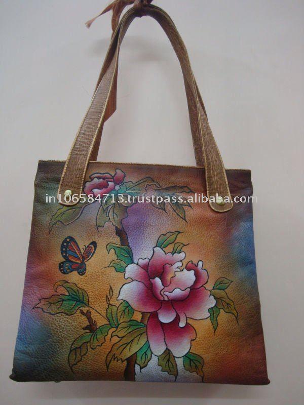 Bolsas pintadas a mano para guardar zapatos buscar con - Bolsas para pintar ...