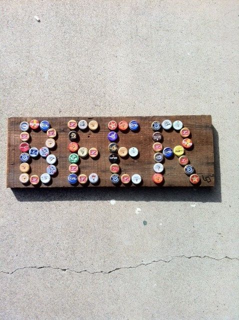 comment recycler les bouchons des bi res 31 id es divers bouteille bricolage et bouchons. Black Bedroom Furniture Sets. Home Design Ideas