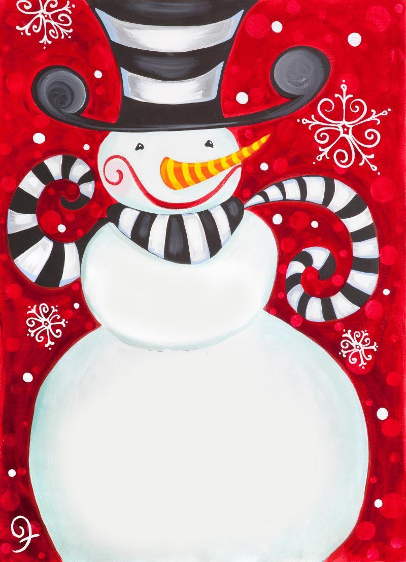 Christmas Painting | painting ideas | Pinterest ...