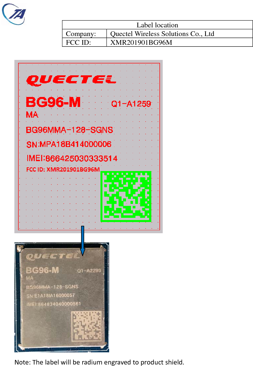 Quectel Wireless Solutions Company Limited LTE Cat M1 module