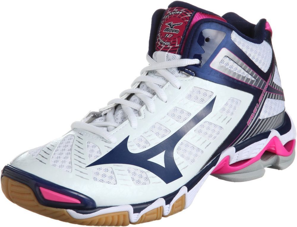 d4da41f33c MIZUNO Wave Lightning 10MID Japan Volleyball Shoes New US Size 9 #Mizuno  #VolleyballShoes