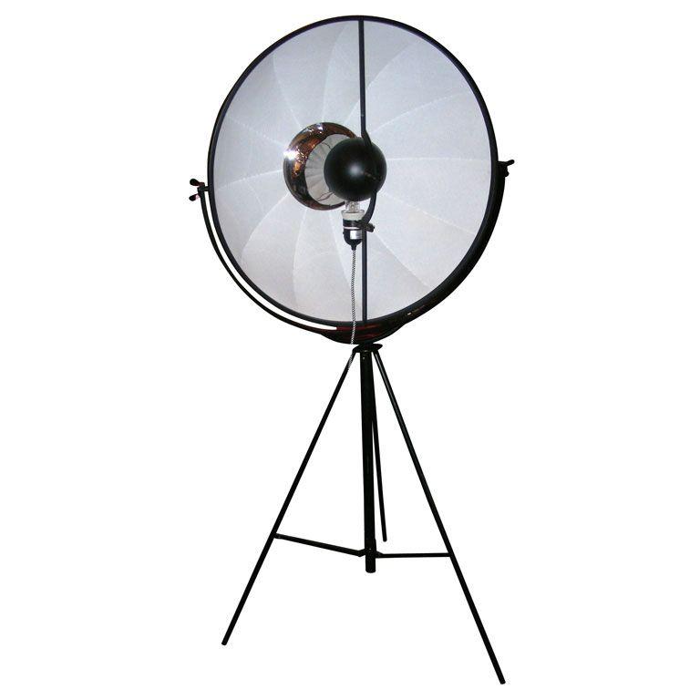 Lampe-projecteur de Mariano Fortuny