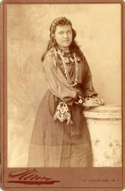 Carrie C. Blue Jacket ~ Shawnee, 1893 Vinta, Oklahoma (born Apr 6 ...