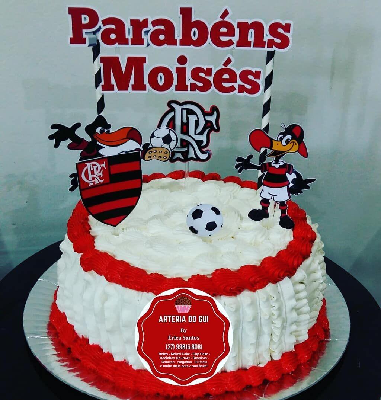 Bolo Flamengo Arteria Do Gui Cakes Arteriadogui No Instagram
