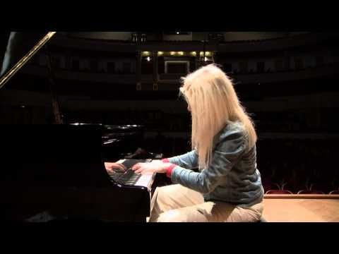 ▶ Schubert-Liszt Des Mädchens Klage , Erlkönig (Valentina Lisitsa practice) - YouTube