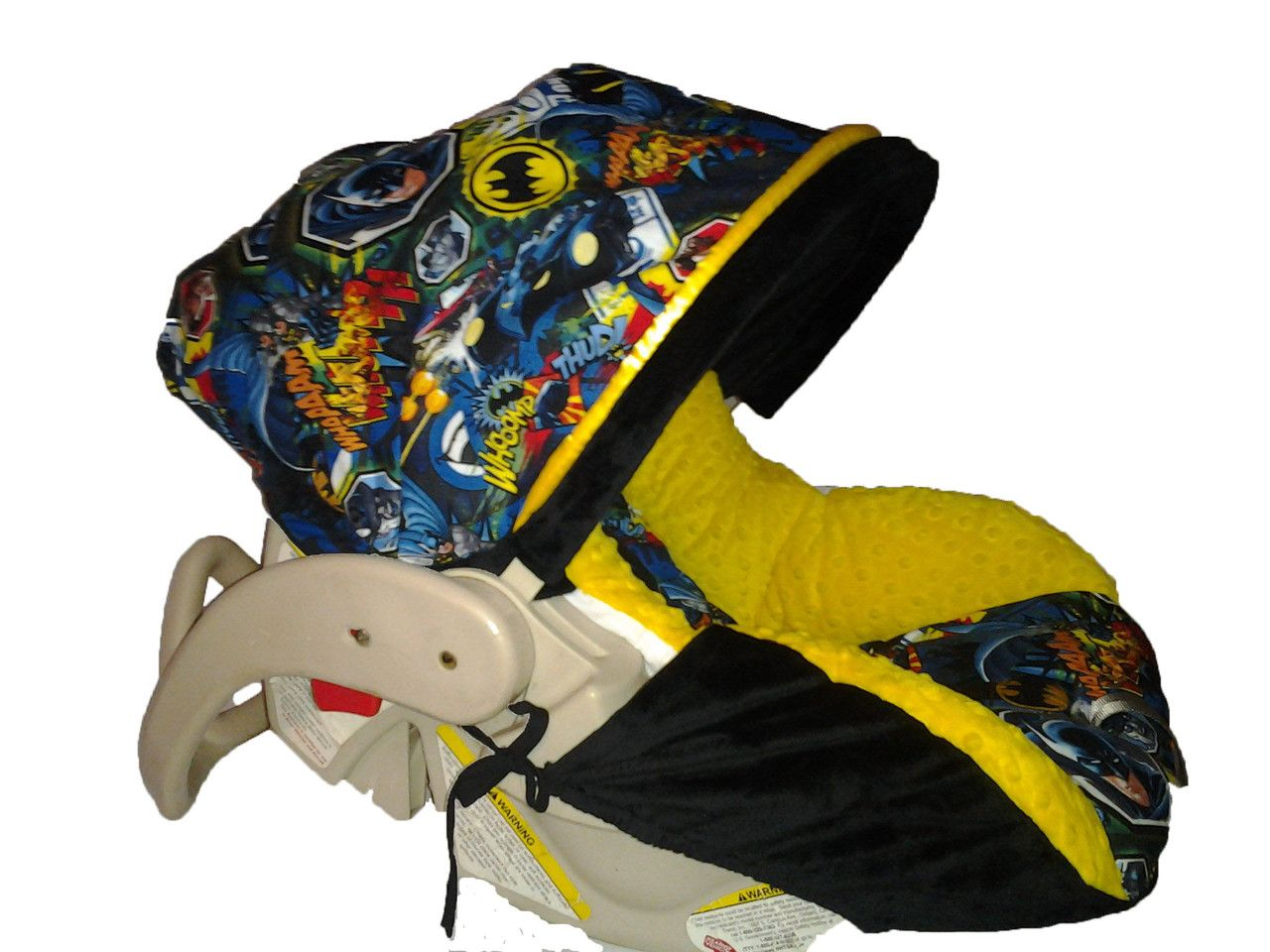 How To Make Batman Car Seat Covers