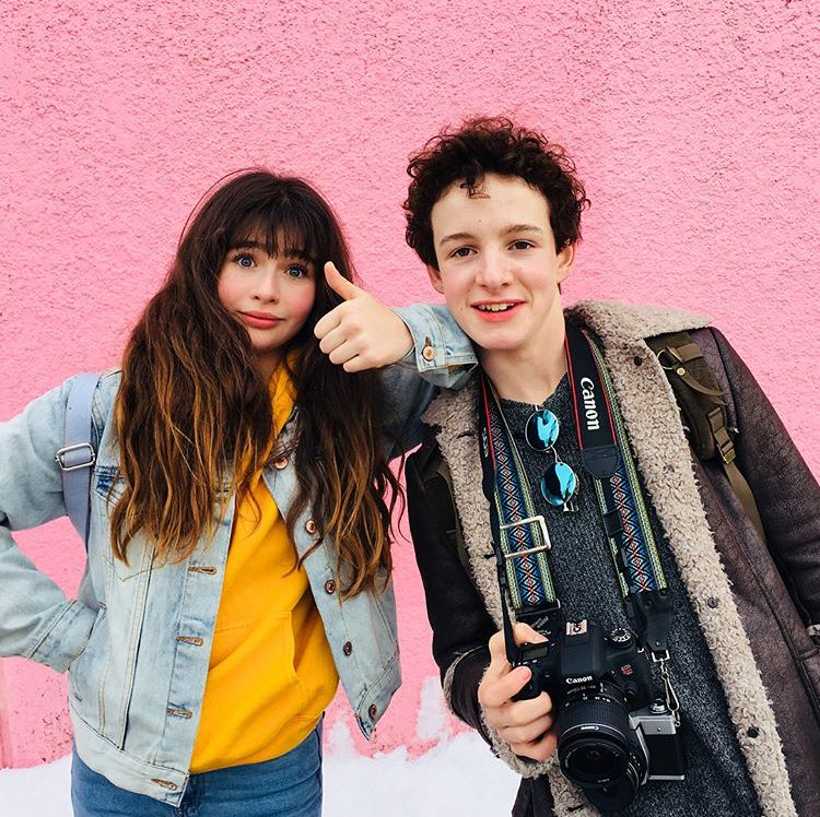 Malina Weissman And Louis Hynes Les Orphelins Baudelaire