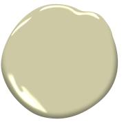 Look at the paint color combination I created with Benjamin Moore. Via @benjamin_moore. Dried Parsley 522; Deep Silver 2124-30; Silver Half Dollar 2121-40; Spanish White 943.
