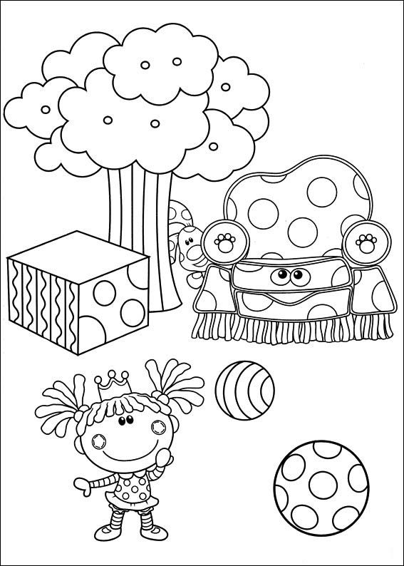 Blue\'s Clues Coloring Pages 30 | Coloring pages for kids | Pinterest
