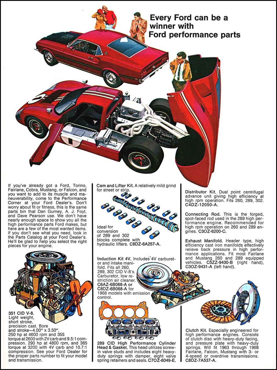 Ford Parts Retro Cars Ford Parts Ford Gt