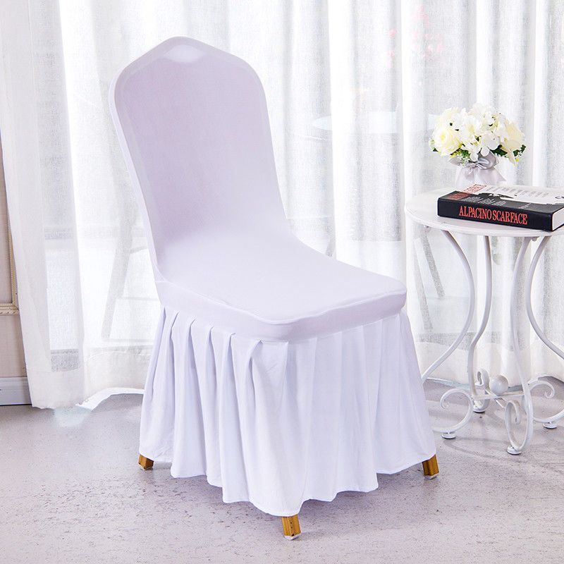 Dining Room Wedding Banquet Chair Cover Party Decor Stretch Seat Cover Slipcover Banquet Chair Banquet Chair Covers Chair Covers Party Dining Room Chair Covers