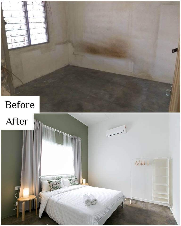 Amazing Renovation Restoration Completely Transforms 40 Year Old House Before And After Photos Old Home Renovation Renovations Terrace House Exterior