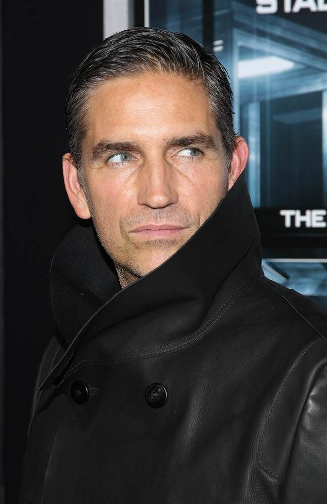 Jim Caviezel - love the grey. It gives such character! #Rainwater