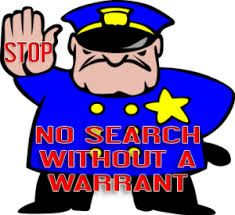 The fourth amendment is the right to privacy. If a police officer ...