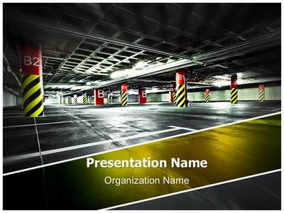 Download our professionally designed car parking lot #PPT ...