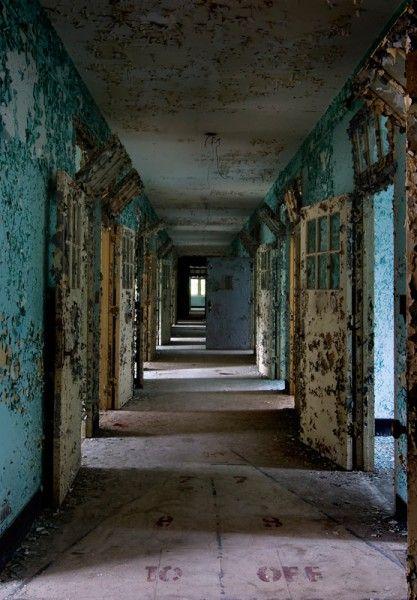 Abandoned Verden Psychiatric Hospital