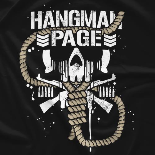 Hangman Page Bullet Club Logo Japan Pro Wrestling Wrestling Superstars