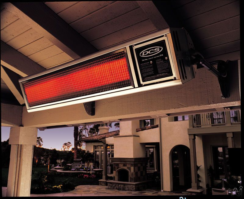 Dcs Drh48n 48 Inch Built In Natural Gas Patio Heater With 56 000 Btu Output Natural Gas Patio Heater Patio Heater Gas Patio Heater