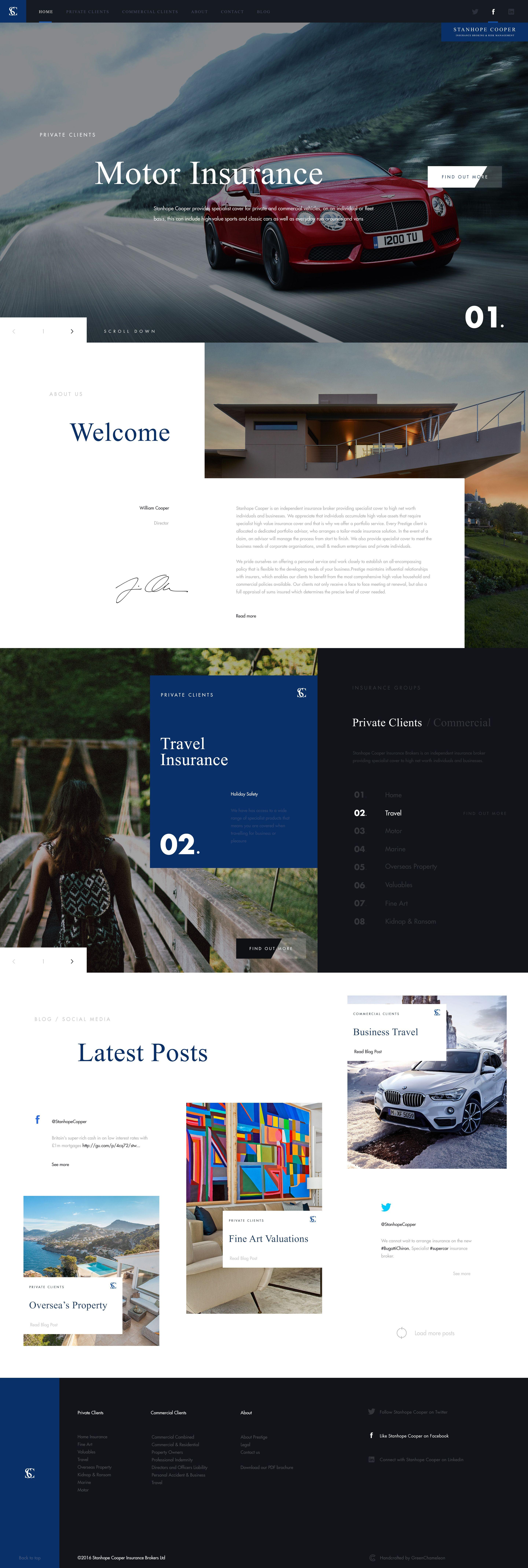 Webdesign For Edgard Cooper