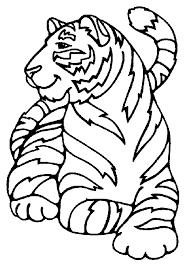 afbeeldingsresultaat voor tijger knutselen kleurplaten