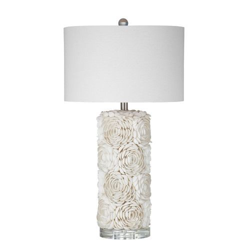 "Found it at Wayfair - Fayetteville Shell 30"" Table Lamp"
