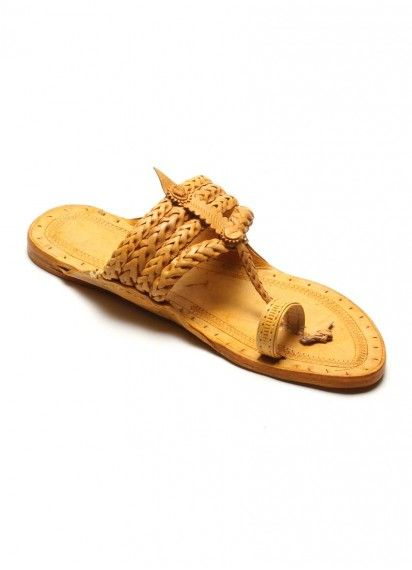 70dce7751b Kolhapuri Chappal Gents Weny Shilai Leather Slippers, T Strap Sandals, Open  Toe, Desi