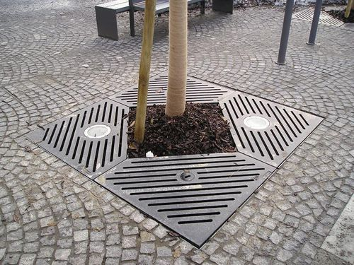Area Mobilier Urbain Tree Grate - Baro 5,0 - Archiexpo | Details | Landscape