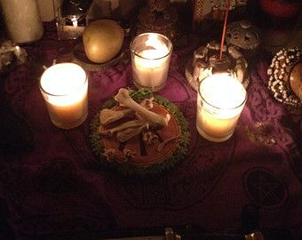 Voodoo Magic Chicken Bones for Divination, Ritual, Witchcraft and
