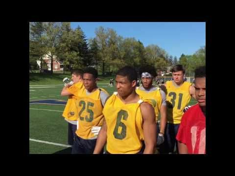 Lycoming Football: Lycoming Video Clip - Last No-Pads Spring Practice...