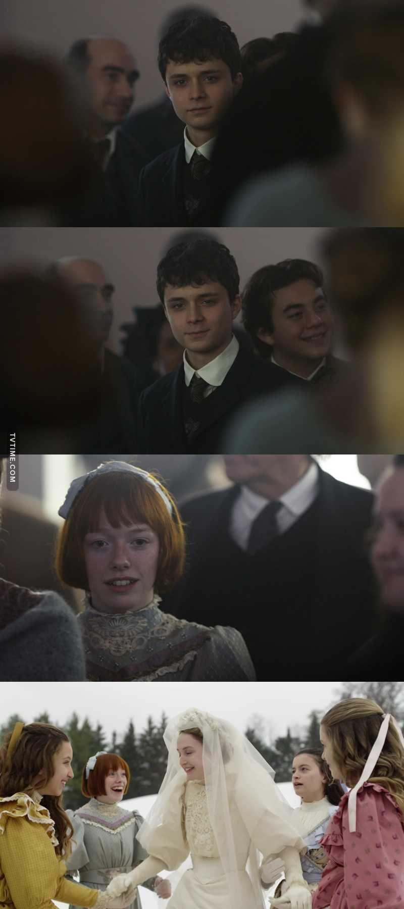 Olha O Jeito Que O Gilbert Olha Pra Anne Que