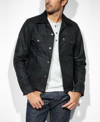 61bf30d48 Levi's Levi's® X Filson® Trucker Jacket - Black Tin Cloth - Slim Fit ...