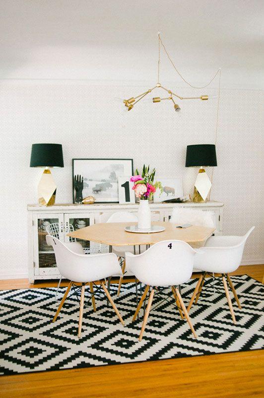 Tapis dans la salle à manger 10 idées les idées de ma maison photo