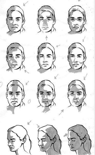 El8gunoysuq Jpg 370 604 Shadow Drawing Portrait Drawing Face Drawing Reference