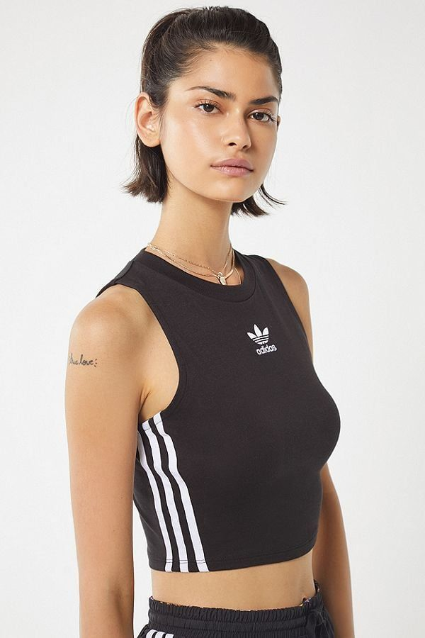 646a0f5d71344c Head from the gym to brunch in this cute adidas Originals Cropped Tank Top  ( 30)