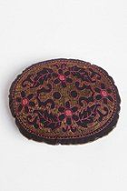 Oval Embroidered Pillow  #UrbanOutfitters
