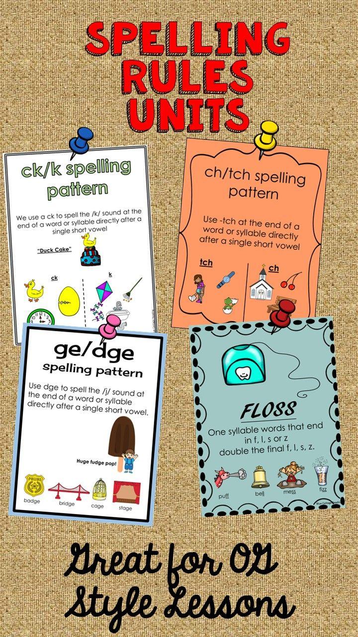Spelling Rule Bundle | Gillingham FC, Worksheets and Phonics