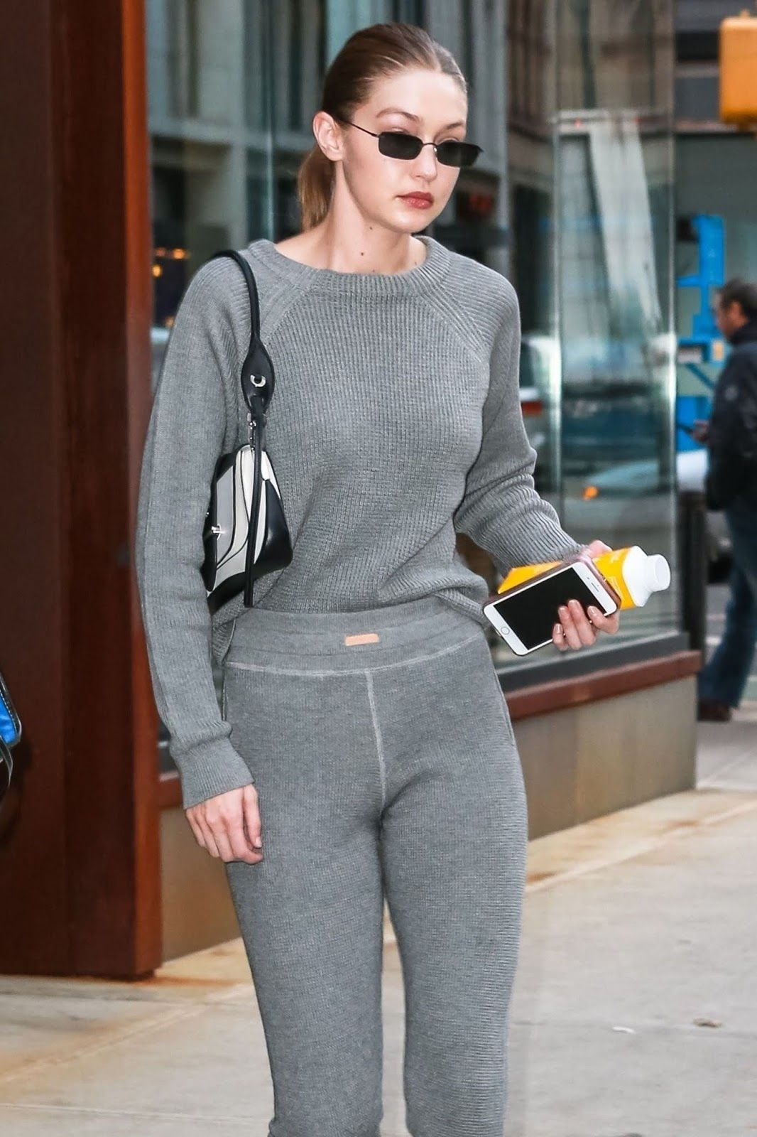 6bf030ae12b58 Gigi Hadid - Out and about in NYC - 02 05 2019
