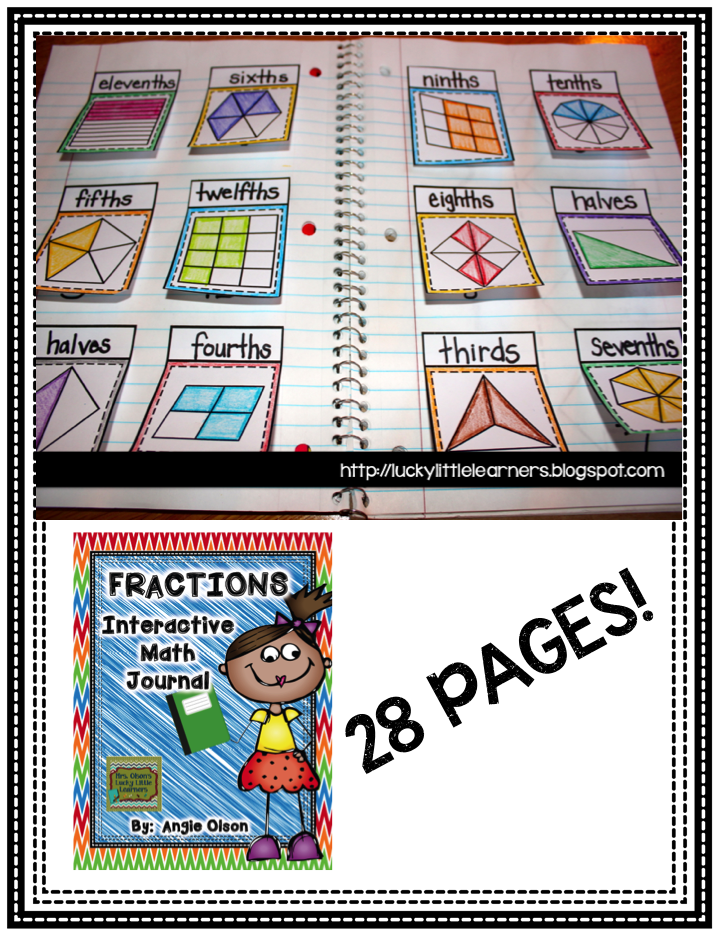 This 28-page product is jam-packed with great fraction resources!  Fraction vocabulary, equivalent fractions, estimating fractions, story problems, labeling fractions, and so much more!!!