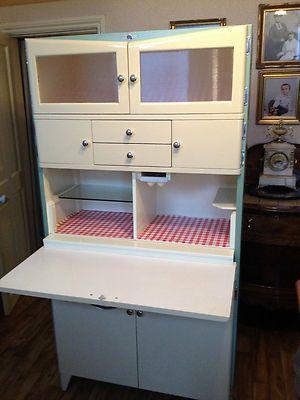1950s Kitchen Cabinet Retro Vintage