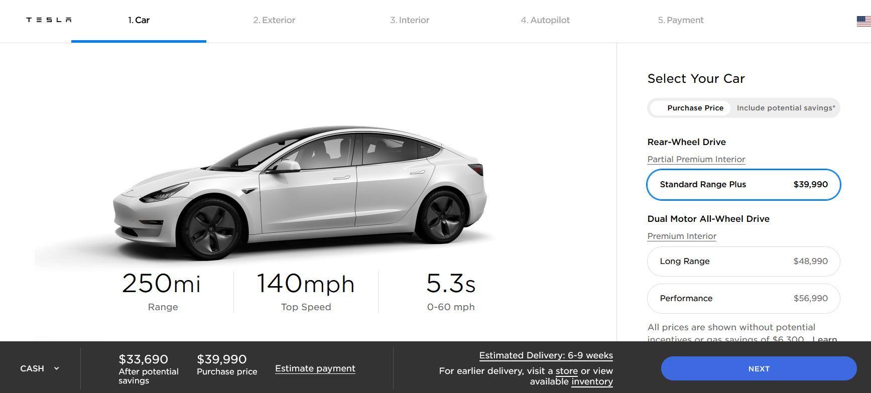 Tesla owner shares $35k Model 3 Standard Range complete ...