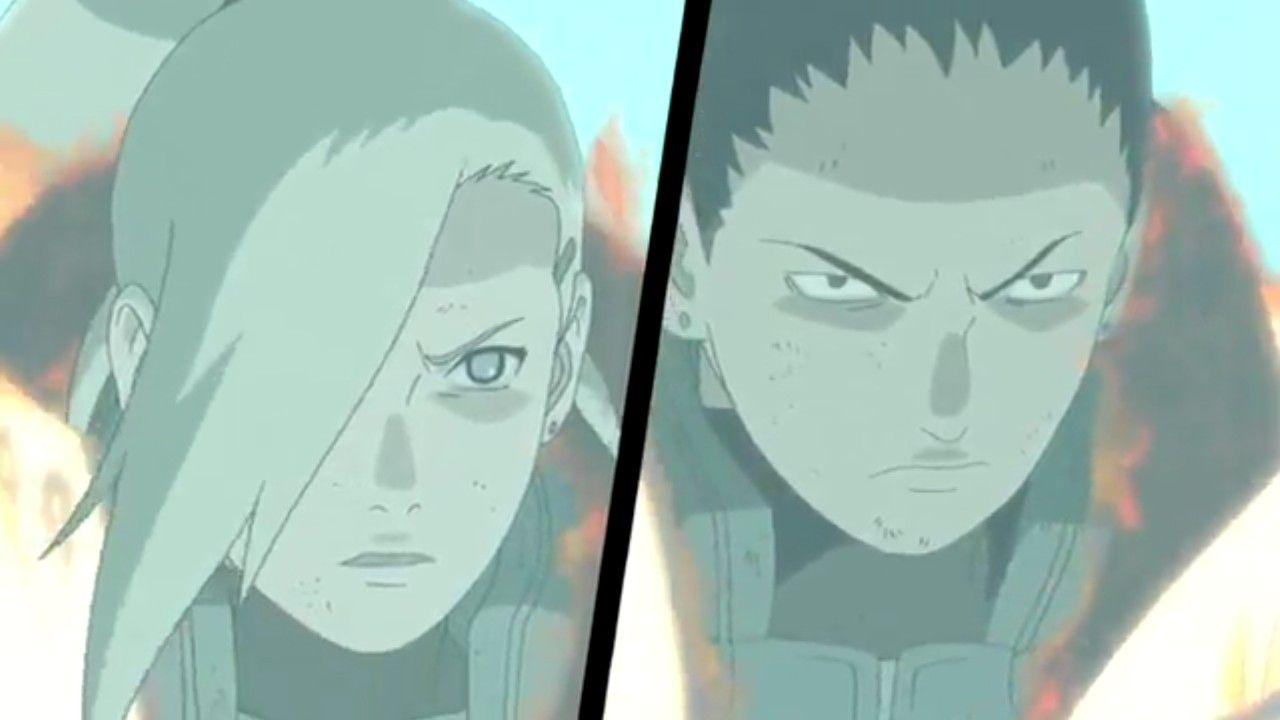 Ino and Shikamaru