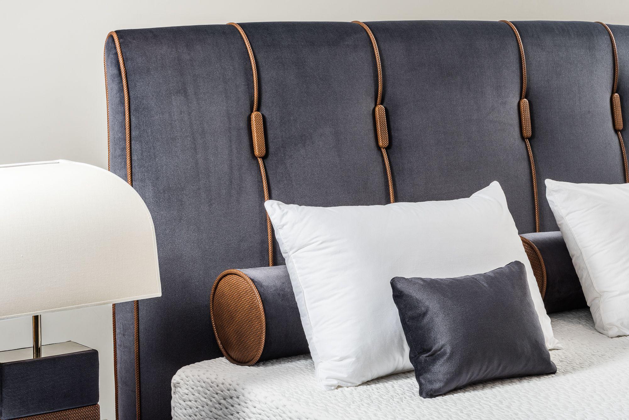 Benjamin Headboard By Colunex Bed Headboard Design Leather Headboard Bedroom Headboards For Beds