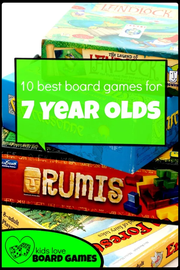 Best Board Games for 7 Year Olds Fun board games, Board