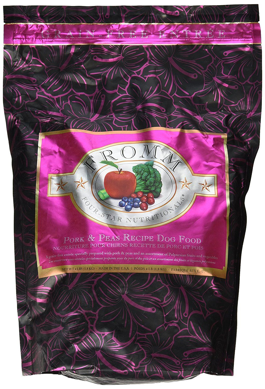 Fromm FourStar Dog Food Pork Peas (4 lb) *** You can find