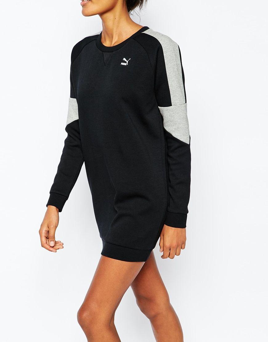 Image 3 - Puma - Robe sweat à empiècements