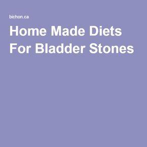 Home Made Diets For Bladder Stones Dog Diet Make Dog