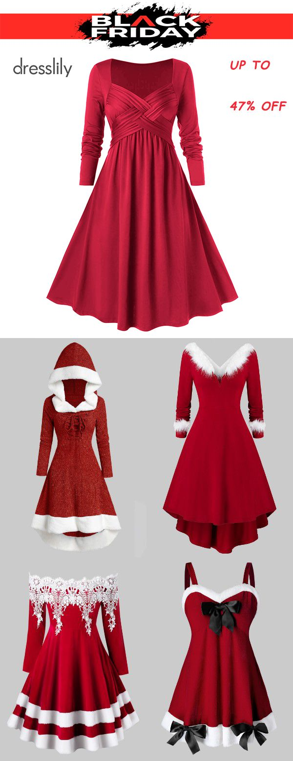 Plus Size Christmas Party Dresses | Christmas Outfits
