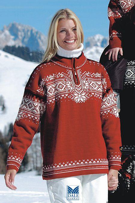 Dale of Norway 125th Anniversary Sweater (Redrose)  e2b9e36a8