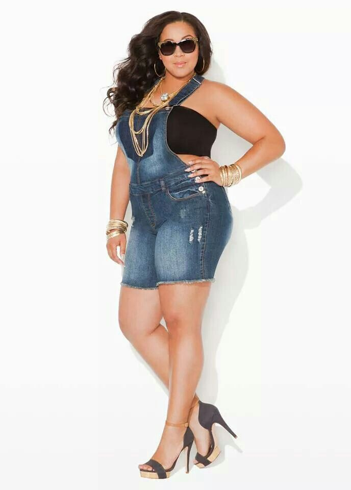 ace53467e0b Ashley Stewart plus size denim jumper short overalls shortall blue jean  romper playsuit  UNIQUE WOMENS FASHION